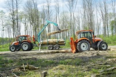 Traktory STEYR při práci