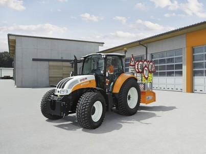 Traktory Steyr - komunální technika