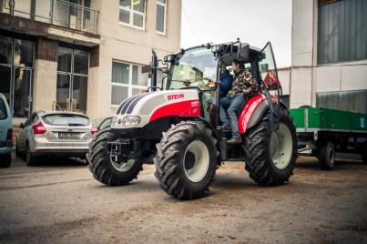 traktor do autoškoly