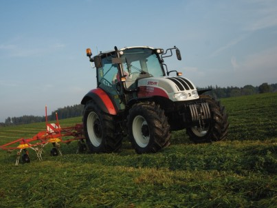 prodej a servis traktorů STEYR kompakt