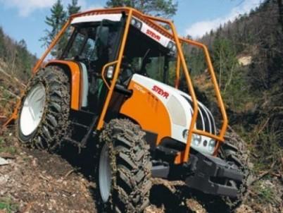 prodej lesních traktorů STEYR