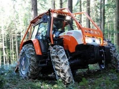 traktory STEYR na prodej - lesní