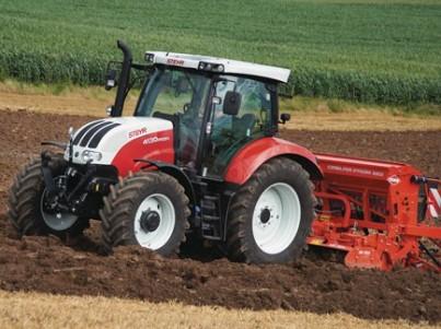 traktor na prodej STEYR CVT