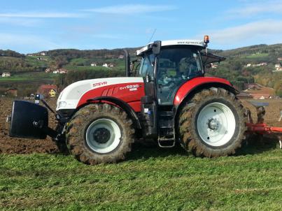 prodej traktorů STEYR CVT