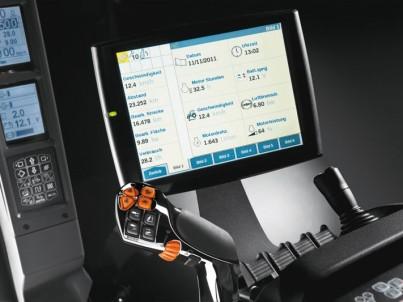 traktor STEYR CVT monitor